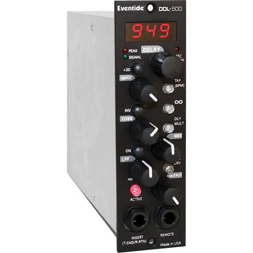 Eventide DDL-500 - 500 Series Mono Digital Delay with Analog Signal Path