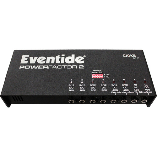 Eventide PowerFactor 2 Multi-Pedal Power Supply