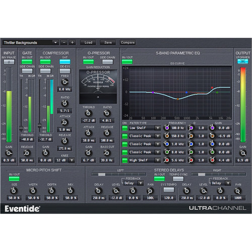 Eventide UltraChannel - Complete Channel Strip Plug-In (Download)