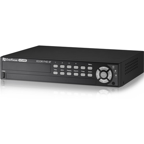 EverFocus eZ.HD Series ECOR HD H.264 4-Channel DVR (2TB)