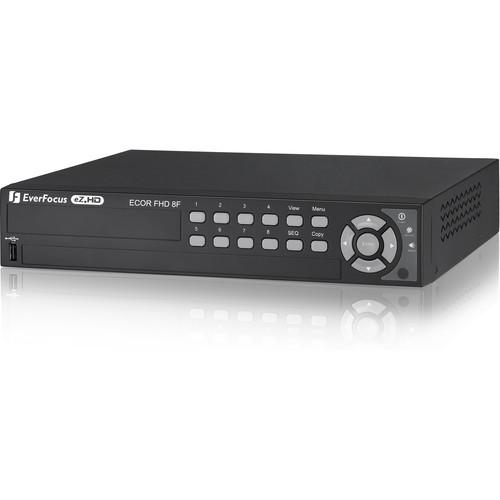 EverFocus eZ.HD Series ECOR HD H.264 8-Channel DVR (4TB)