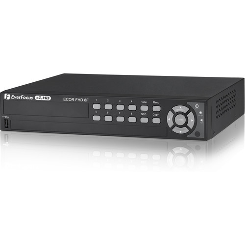 EverFocus eZ.HD Series ECOR HD H.264 8-Channel DVR (8TB)