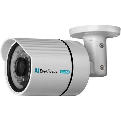 EverFocus ECZ930 720p Analog HD True Day/Night Outdoor IR Bullet Camera with 3.6mm Fixed Lens