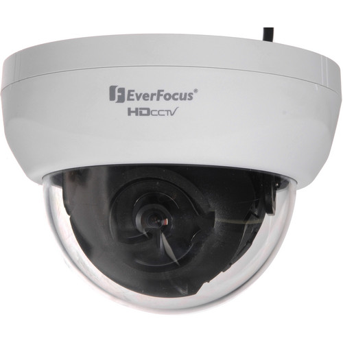 EverFocus EDH5201 HDcctv 3-Axis Indoor Fixed Dome Camera (White)