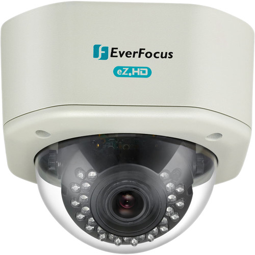 EverFocus eZ.HD Series 1080p Analog HD True Day/Night Outdoor IR Vandal Dome Camera