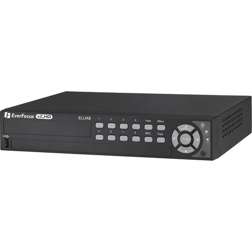 EverFocus 8-Channel 1080P Hybrid DVR (1TB)