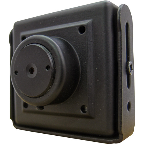 EverFocus EM900FP3 1080p Full HD Mini Metal Case Camera with 3.7mm Flat Lens