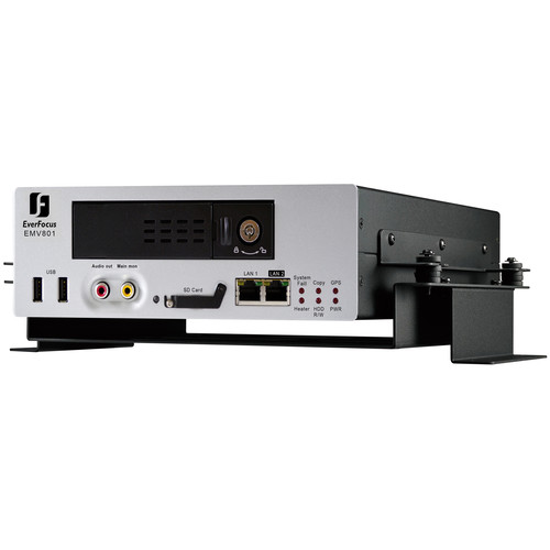 EverFocus EMV801/500M 8-Channel Hybrid Mobile DVR (500GB HDD)
