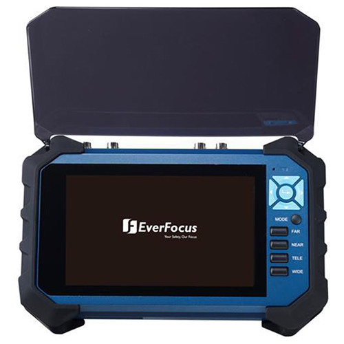 "EverFocus Portable Video Tester with 7"" LCD Screen"