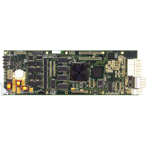 Evertz Microsystems VistaLINK Frame Controller Card with 3RU Rear Plate