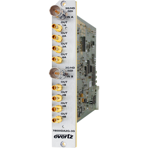 Evertz Microsystems 3G/HD/SD-SDI Intelligent Distribution Amplifier