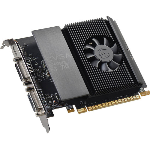 EVGA GeForce GT 710,1GB GDDR5, Single Slot