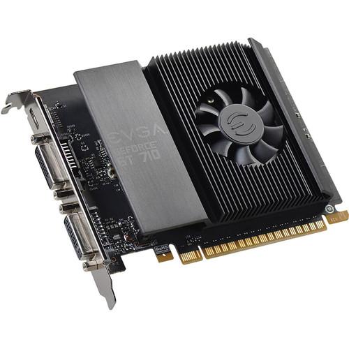 EVGA GeForce GT 710,2GB GDDR5, Single Shot