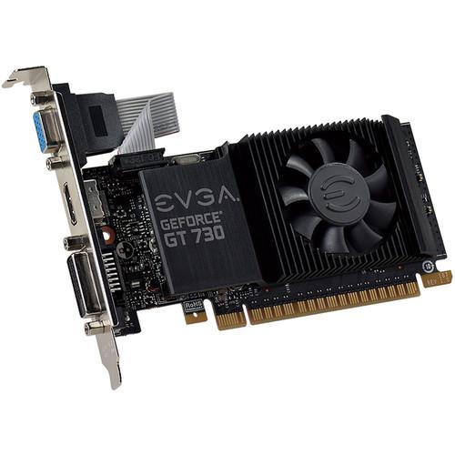 EVGA GeForce GT 730, Low Profile, Single