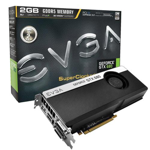 EVGA GeForce GTX 680 SC Signature Graphics Card