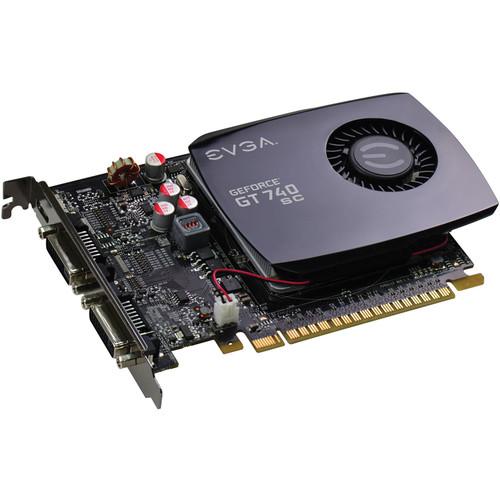 EVGA GeForce GT 740 Superclocked Graphics Card (2GB DDR3, Single Slot)