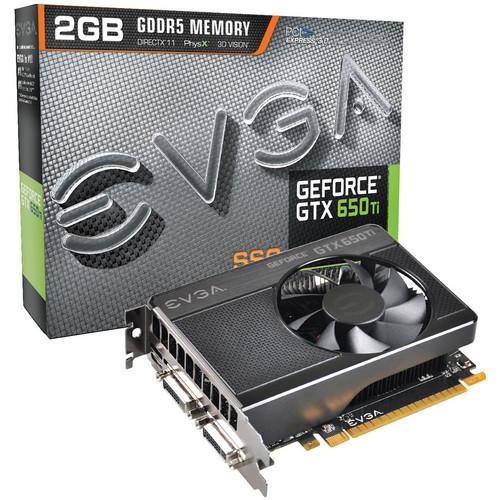 EVGA GTX 650 TI SSC 2 GB GDDR5 PCI-Express 3.0 Graphics Card