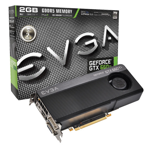 EVGA GeForce GTX 660 Ti Graphics Card