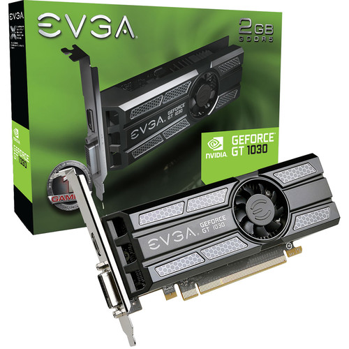 EVGA GeForce GT 1030 SC Low Profile Graphics Card