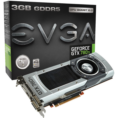 EVGA GeForce GTX 780 Ti Graphics Card