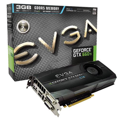 EVGA GeForce GTX 660 Ti 3GB Graphics Card