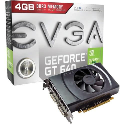 EVGA nVIDIA GeForce GT 640 (Dual Slot) Graphics Card