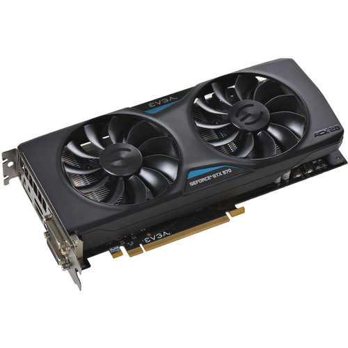 EVGA GeForce GTX 970 SuperClocked Graphics Card