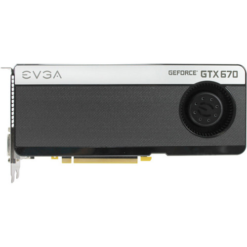 EVGA GeForce GTX 670 4GB GDDR5 FTW Graphics Card