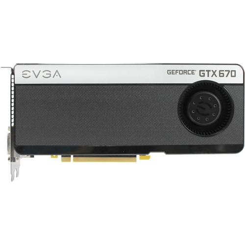 EVGA GeForce GTX 670 4GB GDDR5 FTW Graphics Card