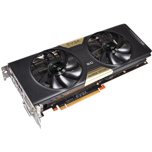 EVGA GeForce GTX 770 Graphics Card with ACX Cooler (1163 MHz)
