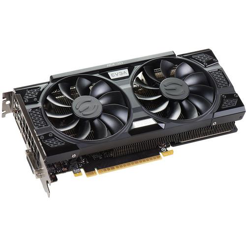 EVGA GeForce GTX 1050 Ti SSC GAMING ACX 3.0 Graphics Card