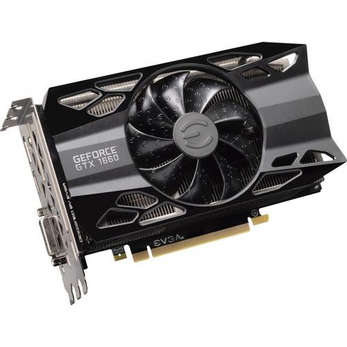 Tarjeta gráfica EVGA GeForce GTX 1660 XC para juegos