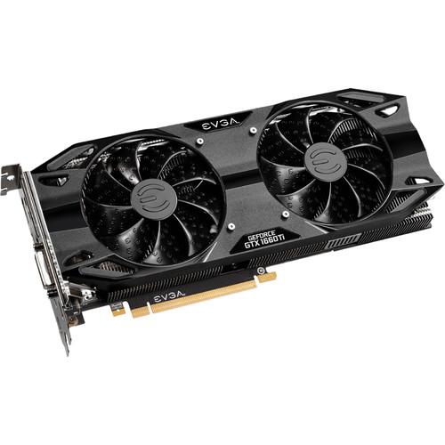 EVGA GeForce GTX 1660 Ti XC Ultra Gaming Graphics Card