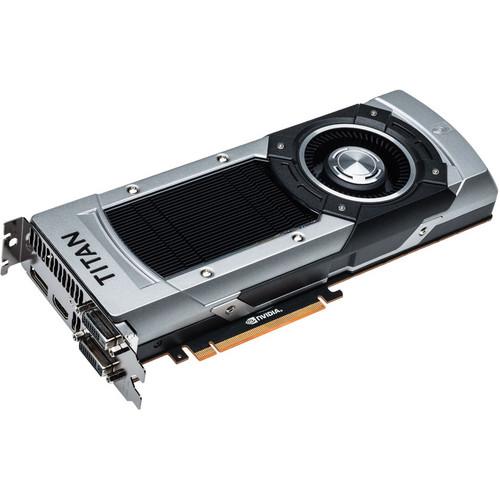 EVGA GeForce GTX Titan Black Superclocked Graphics Card