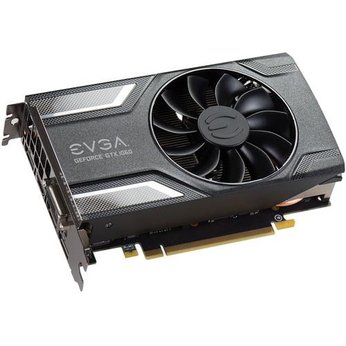 EVGA GeForce GTX 1060 SC 6GB GDDR5 Graphics Card