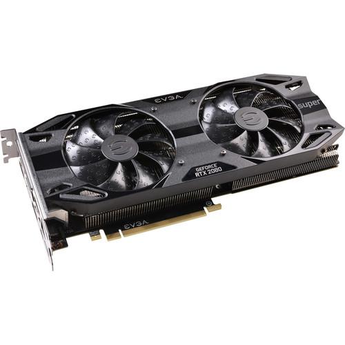 EVGA GeForce RTX 2080 SUPER BLACK EDITION GAMING Graphics Card