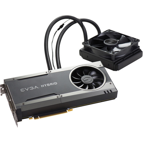 EVGA GeForce GTX 1080 FTW HYBRID GAMING Graphics Card