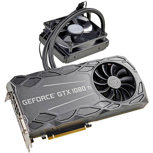 EVGA GeForce GTX 1080 Ti FTW3 HYBRID GAMING Graphics Card