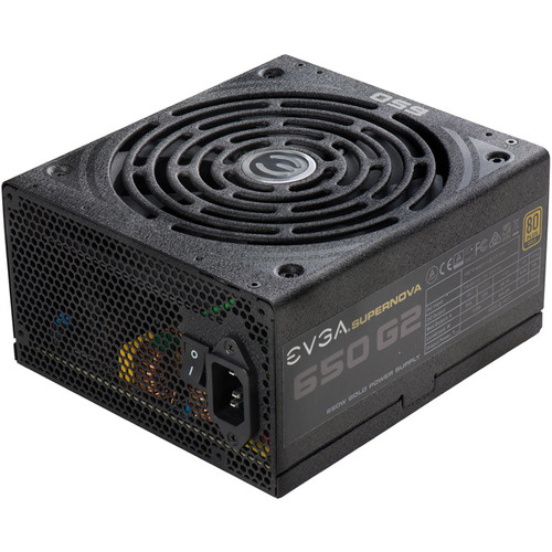 EVGA SuperNOVA 650 G2 650W 80 Plus Gold Modular Power Supply