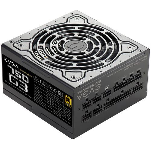 EVGA SuperNOVA 750 G3 750W 80 Plus Gold Modular Power Supply