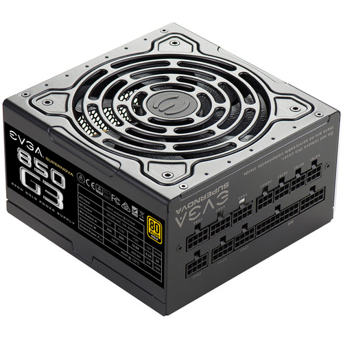 EVGA SuperNOVA 850 G3 850W 80 Plus Gold Modular Power Supply