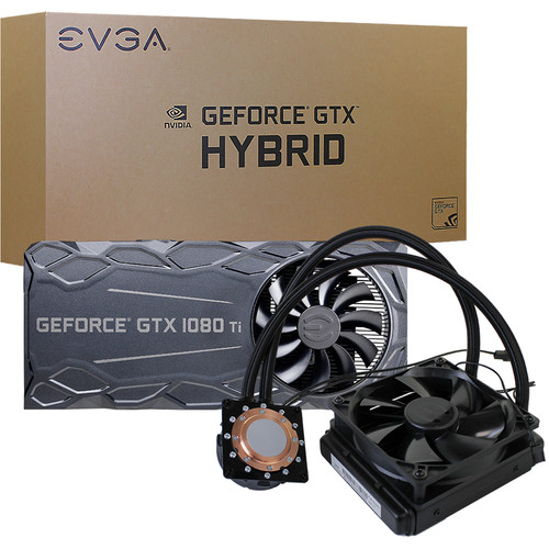 EVGA Hybrid Water Block Cooler for GTX 1080 Ti FTW3 Graphics Cards