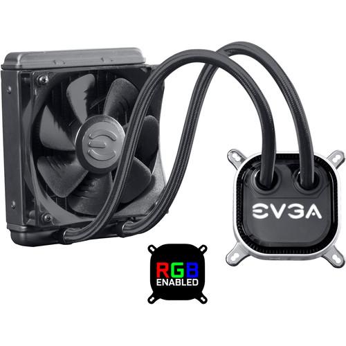 EVGA CLC 120 Liquid CPU Cooler with RGB LED Lighting