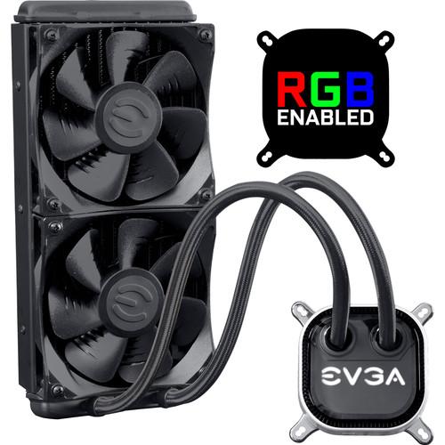 EVGA CLC 240 RGB Closed Loop Liquid CPU Cooler