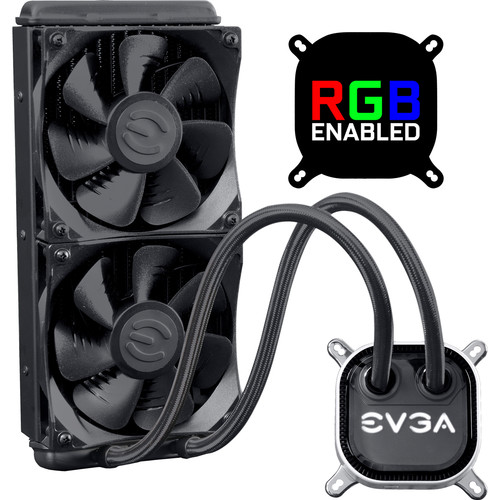 EVGA CLC 240 RGB Liquid CPU Cooler