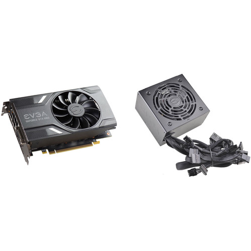 EVGA GeForce GTX 1060 GAMING Graphics Card & 600 BR 600W 80 Plus Bronze Power Supply Kit