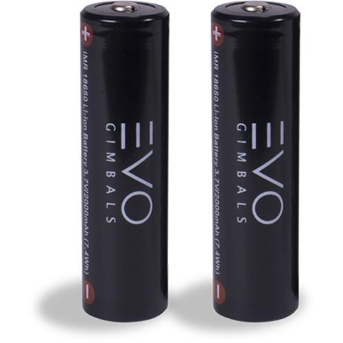 EVO Gimbals 18650 Li-Ion Batteries (2-Pack)