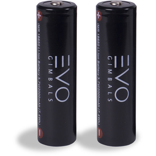 EVO Gimbals 18650 Li-Ion Battery Set for GP / GP-PRO Gimbal (Pack of 2)