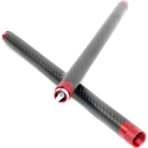 "EVO Gimbals Carbon Fiber Extension Handles for EVO GP Gimbals (Set of 2, 14"")"