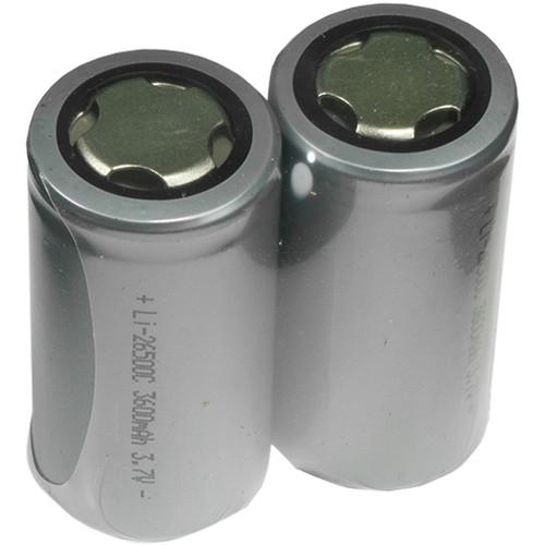 EVO Gimbals IMR 26500 Battery Set (2-Pack)